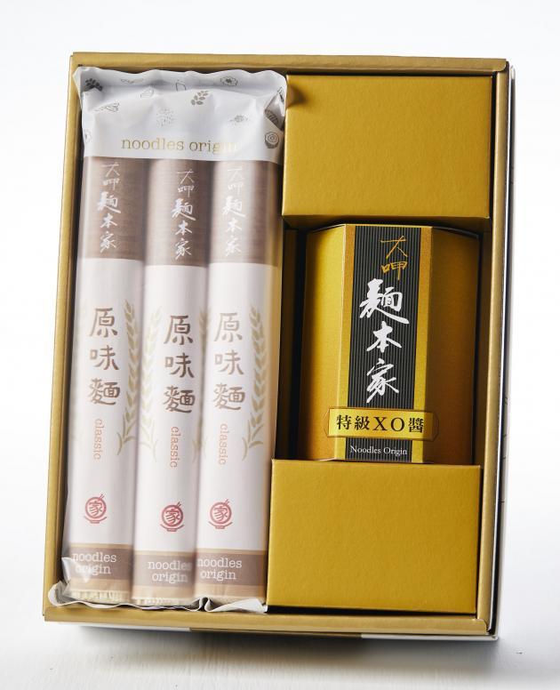 特級XO醬經典麵條白金禮盒 /  特殊グレードXO醤+オリジナル味麺プラチナギフト / Luxury Set with Premium XO Sauce & Classic Noodles 1